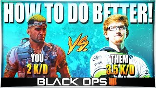 BEST TIPS TO DO BETTER AGAINST GOOD PLAYERS! (How to Improve at BO4 Multiplayer)