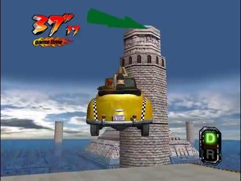 Crazy Taxi 3 (Crazy X) - Real-Time Playthrough