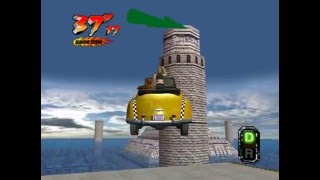 Crazy Taxi 3 (Crazy X) - Real-Time Playthrough