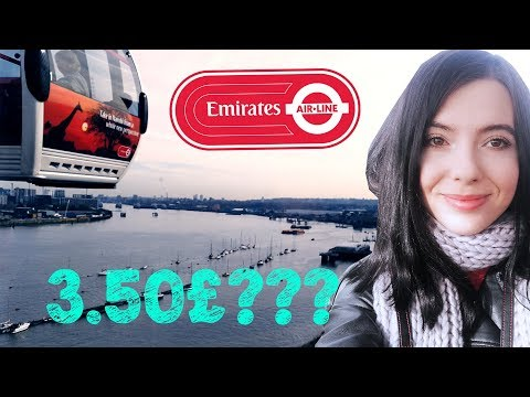 Emirates Air Line Cable Car-The best view in London for only