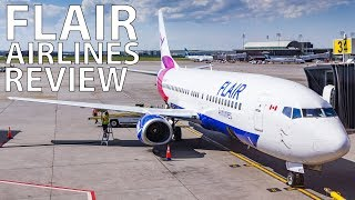 The Flair Airlines Experience | Winnipeg to Calgary on a Boeing 737-400