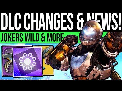 Destiny 2 | DRIFTER SEASON & BIG DLC CHANGES! Jokers Wild Gambit, Shotgun Nerf & Exotic Reworks! thumbnail