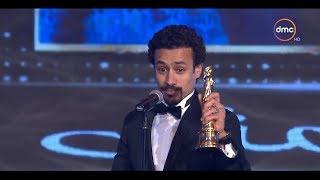الفنان أحمد داوود يفوز بجائزة أفضل ممثل دور ثاني | حفل توزيع جوائز السينما العربية