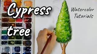 [FineArtLab] Cypress Tree in w…