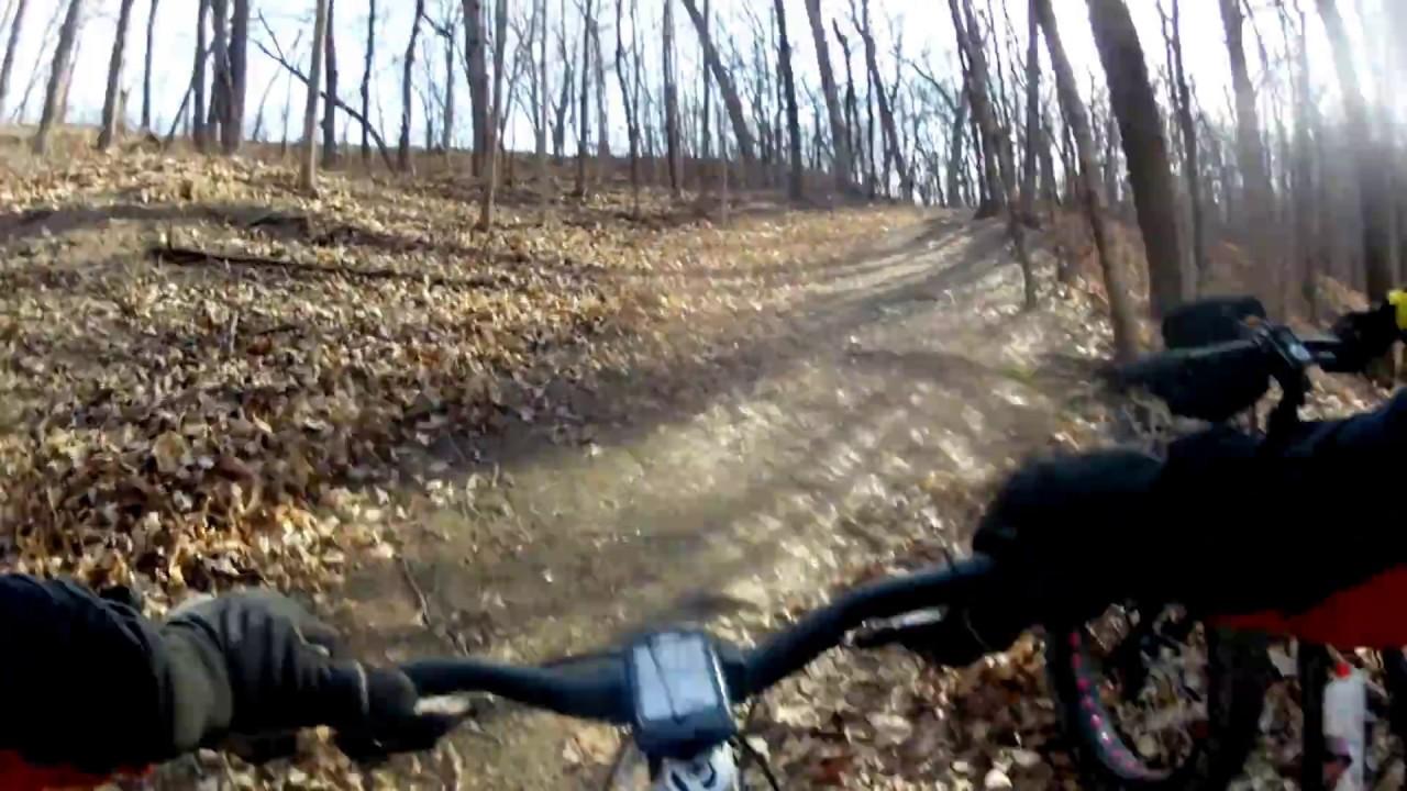 Matthiessen State Park mountain bike trails - YouTube