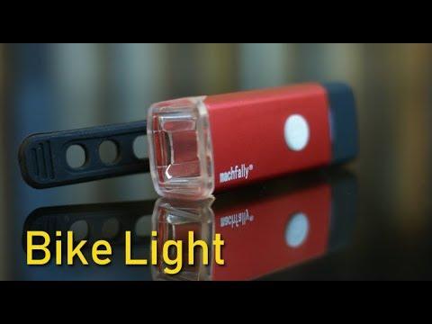Bike Front Light USB Charging Night Riding Strong Light Waterproof