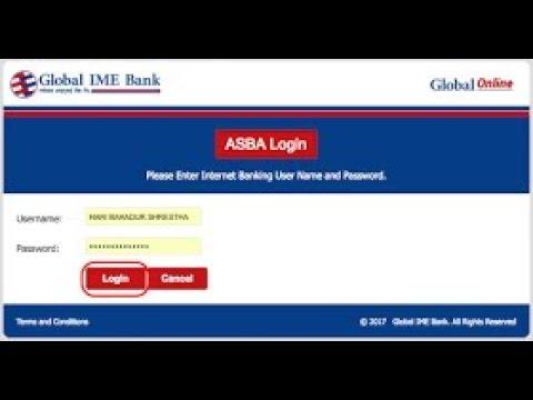 ASBA Online |Global IME Mobile banking IPO