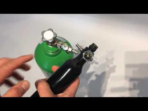 Häufig Kurzanleitung - Wie befülle ich eine 200 Bar Pressluftflasche ME45