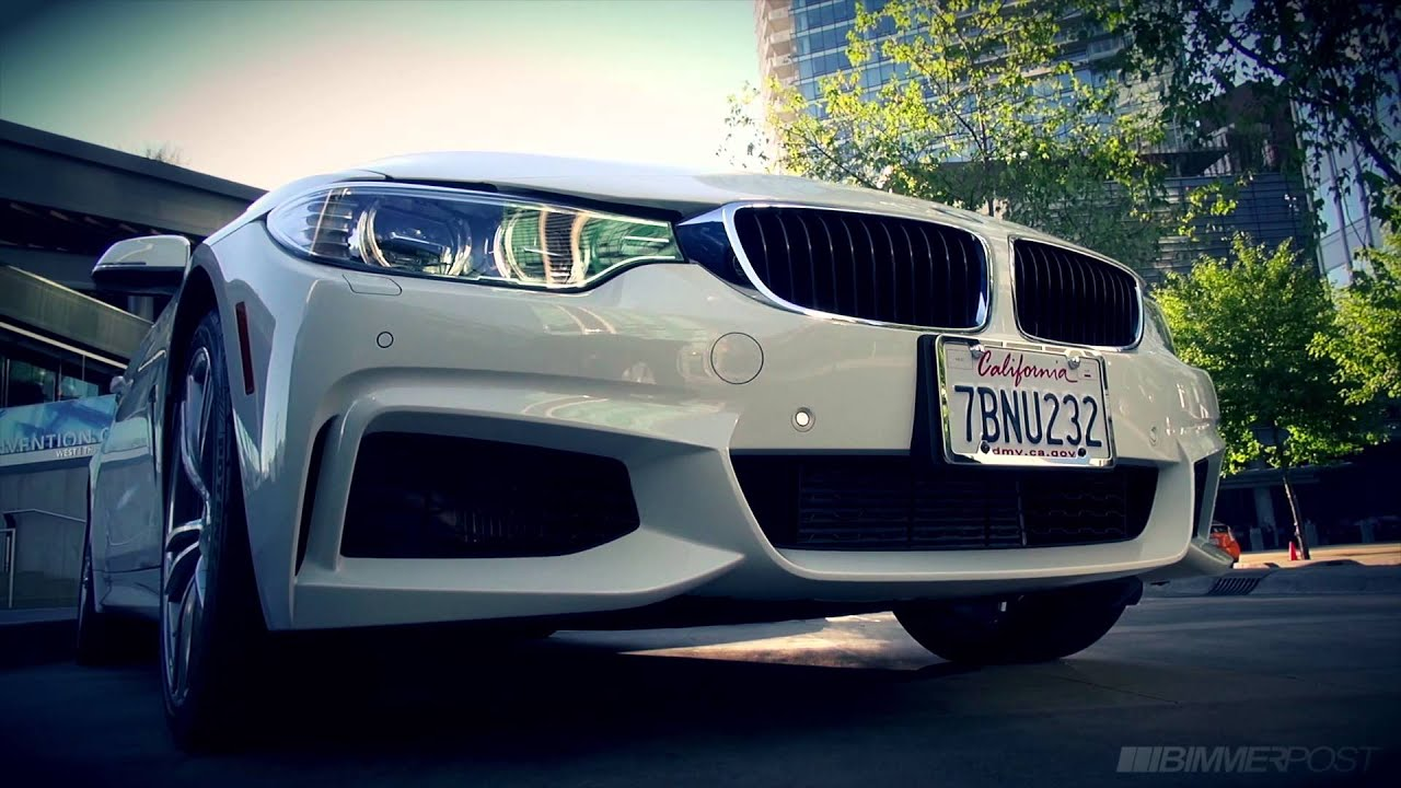 Bmw 435i M Sport Xdrive Coupe F32 In Alpine White Youtube