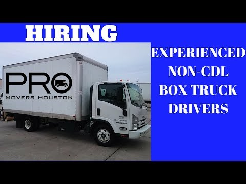 Houston: Hiring Experienced NON-CDL ROUTE DRIVERS-IC - YouTube