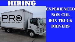 Houston: Hiring Experienced NON-CDL ROUTE DRIVERS-IC