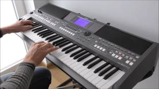 Jan Hammer - Crockett's Theme (Miami Vice) cover yamaha psr s670