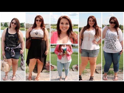 [Plus Size Fashion] Summer Lookbook | Sarah Rae Vargas. Http://Bit.Ly/2KBtGmj