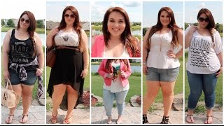 [Plus Size Fashion] Summer Lookbook | Sarah Rae Vargas