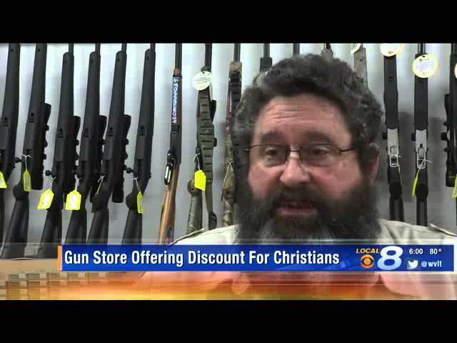 Tennessee Gun Store Offers Discount To Christians Only