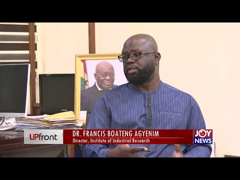 Ghana's Industrial Research and its Impact on Development - Upfront on JoyNews (9-9-21)