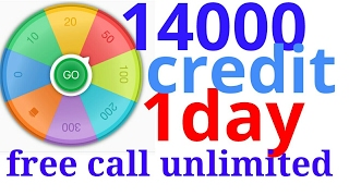 free call anywhere in indiafree call anywhere in the world  credit 14000 pr