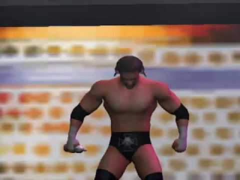 Orton vs HHH - WWE Raw UI