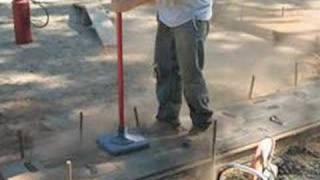 Wooden Plank Concrete Walkways # 035b Concretenetwork.com