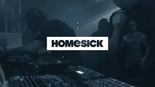Crotekk \u0026 Leigh Johnson (Videoset) @ Homesick, Club Seilerstraße Zwickau 16.03.2019