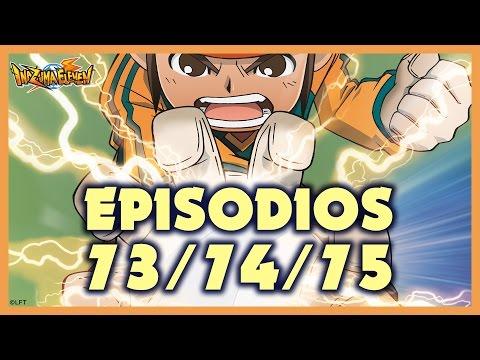 Episodios 73, 74 y 75 de Inazuma Eleven. Más de una hora de diversión!!!