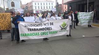 Huelga legal Farmacias Cruz Verde junio 2014