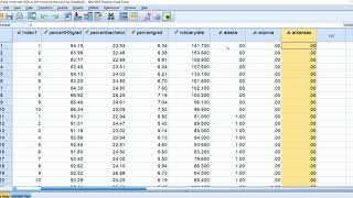 Fixed effects panel regression in SPSS using Least squares dummy variable approach