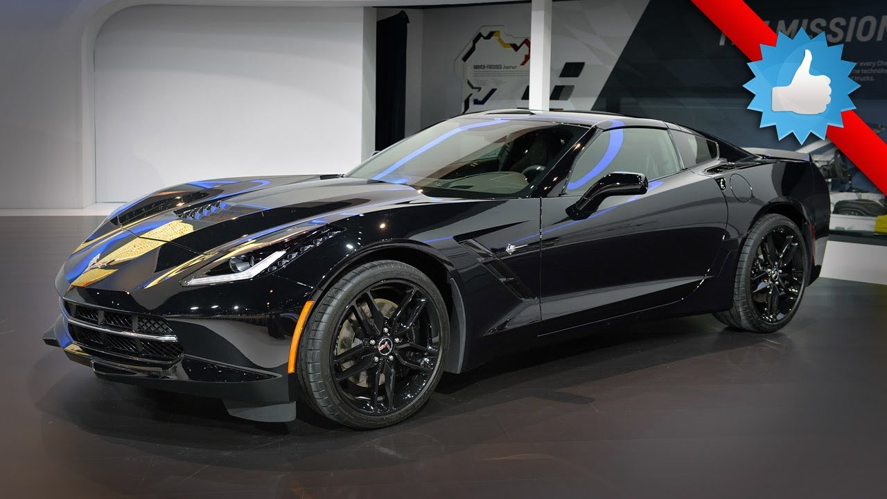 2015 Chevrolet Corvette Stingray Black Widow: Chicago 2014 - YouTube