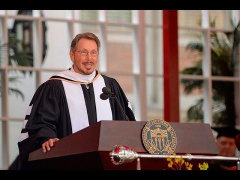 Larry Ellison USC Commencement Speech | USC Commencement 2016
