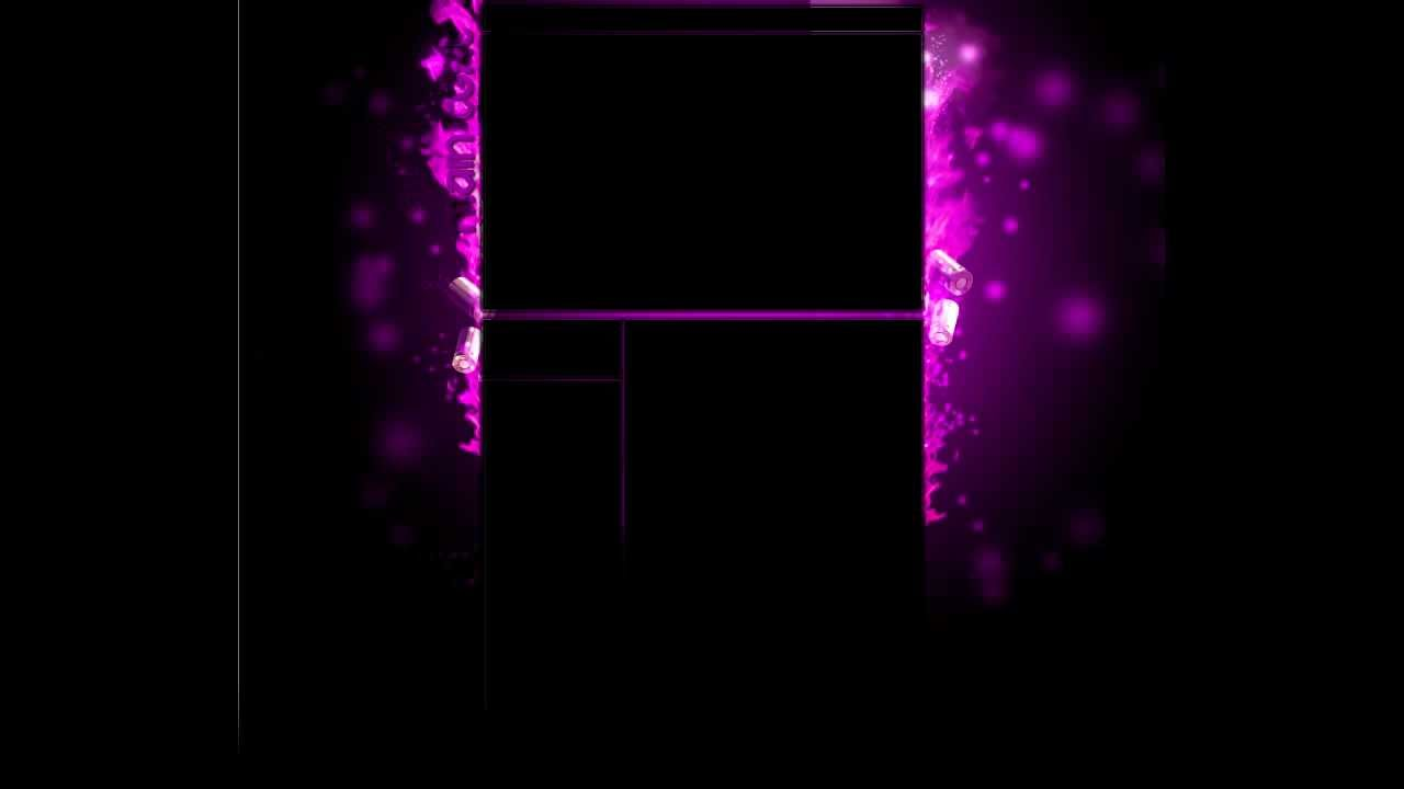 Purple Youtube Background Template PSD Download - YouTube