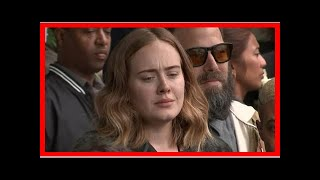 Breaking News | Video: Adele joins Grenfell Tower mourners