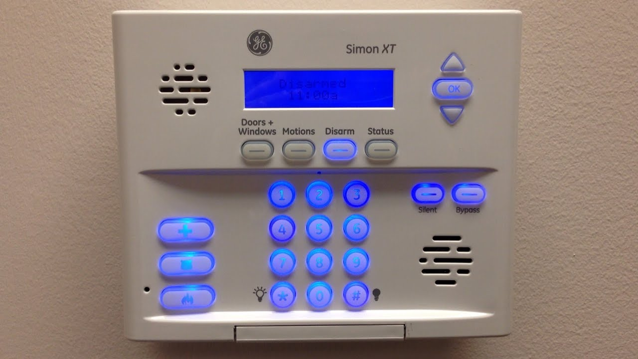 How to change the backup battery in a Simon XT security panel ...