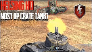 Most OP Crate Tank? The Helsing Ho World of tanks Blitz