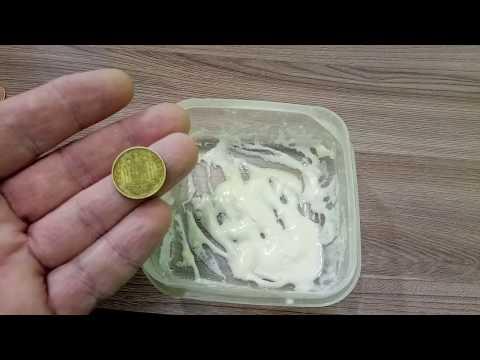 БЫСТРАЯ ЧИСТКА МОНЕТ В ДОМАШНИХ УСЛОВИЯХ . #монеты#чистка#вдомашнихусловиях