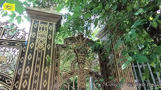 Cổng nhôm đúc Bạc Liêu