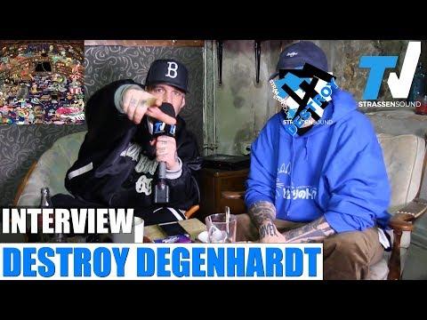 DESTROY DEGENHARDT Interview mit MC Bogy zum Album 'Das Handbuch des Giftmischers' TV Strassensound