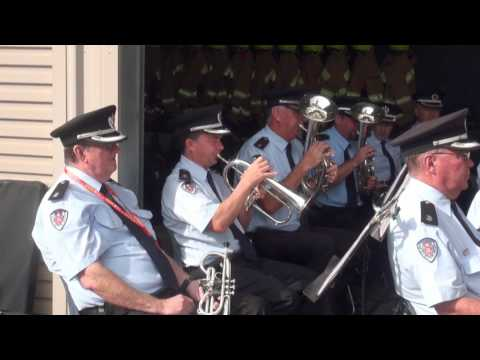 Fire and Rescue NSW Band and Marching Team - Open Day at Alexandria Training College 2017