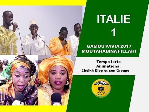 P1- Gamou Pavia Voghera temps et animation cheikh Diop et son groupe