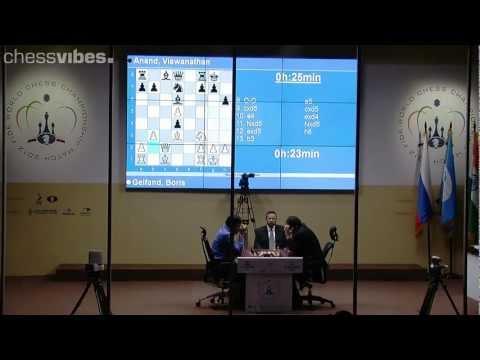 World Chess Championship 2012: Anand beats Gelfand in tiebreak