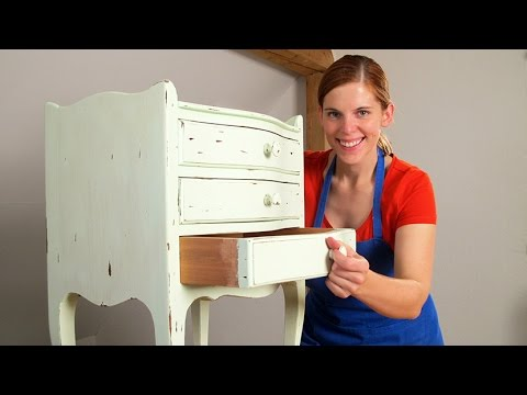 shabby chic kommode youtube. Black Bedroom Furniture Sets. Home Design Ideas