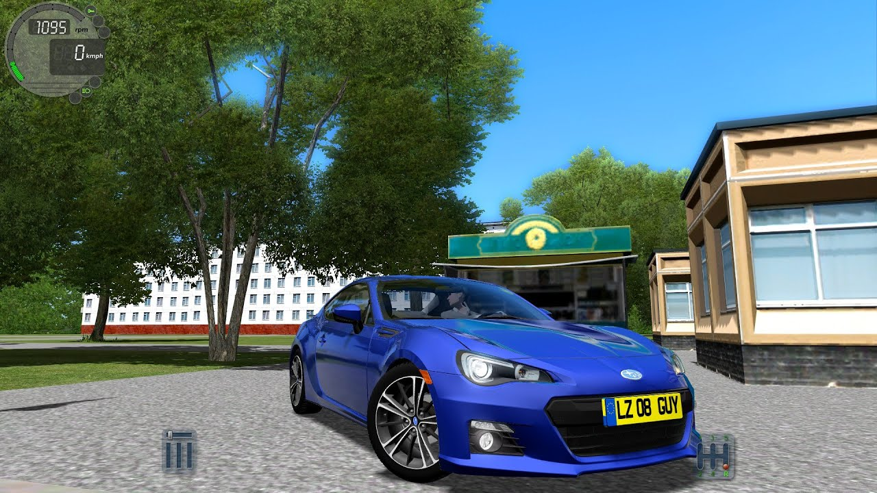 City Car Driving 1.4.1 Subaru BRZ/ Toyota GT86 [G27] - YouTube