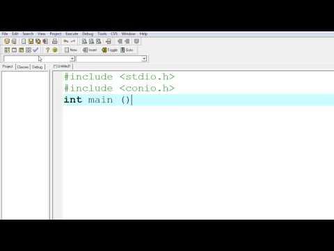 WorkShop การเขียนโปรแกรมหาพื้นที่รูปวงกลม ด้วยภาษา C