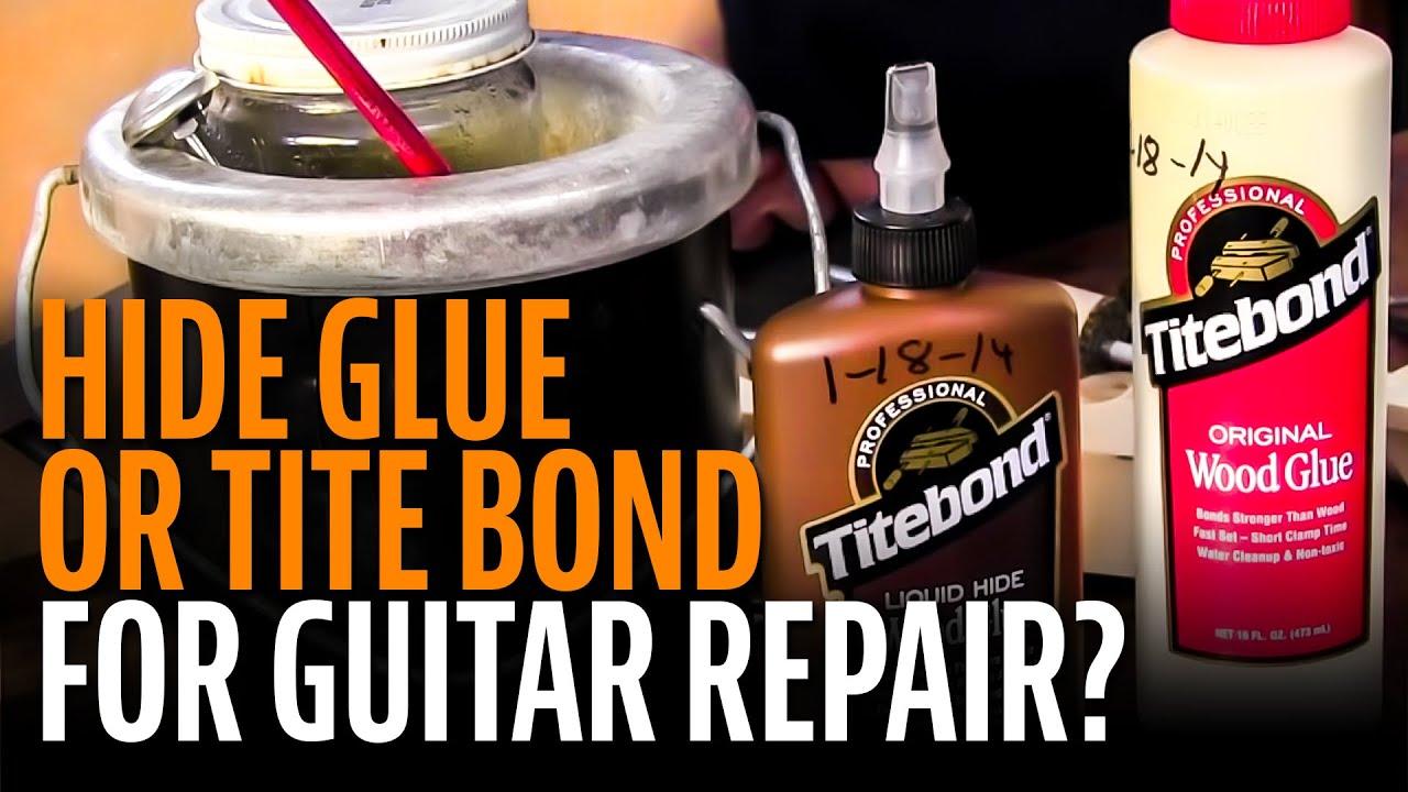 Hide Glue Or Titebond For Guitar Repair Youtube