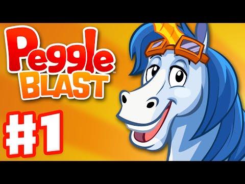 Peggle Blast - Gameplay Walkthrough Part 1 - Bjorn (iOS, Android)