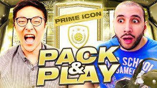 Two Bald Men open a Prime Icon Pack. Brazilian?!...FIFA 21 PACK & PLAY w/@ITANI