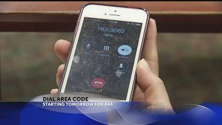 Dial 843 Area Code TOMORROW