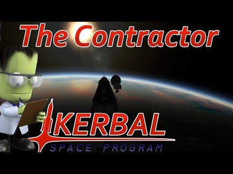[11] Munar Rendezvous & Lander Launch | The Contractor - Kerbal Space Program