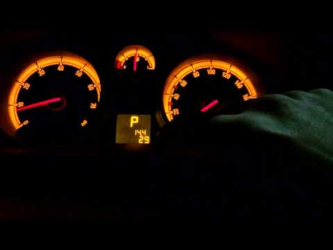 Как посмотреть температуру двигателя в Opel Corsa D