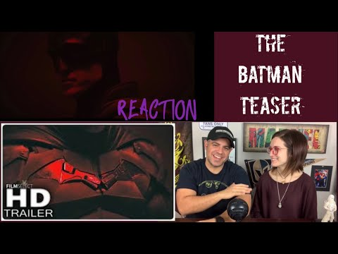THE BATMAN - Camera Test Trailer Reaction