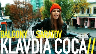 KLAVDIA COCA - ПЯТЫЙ БИТЛ (BalconyTV)(KLAVDIA COCA performs the song